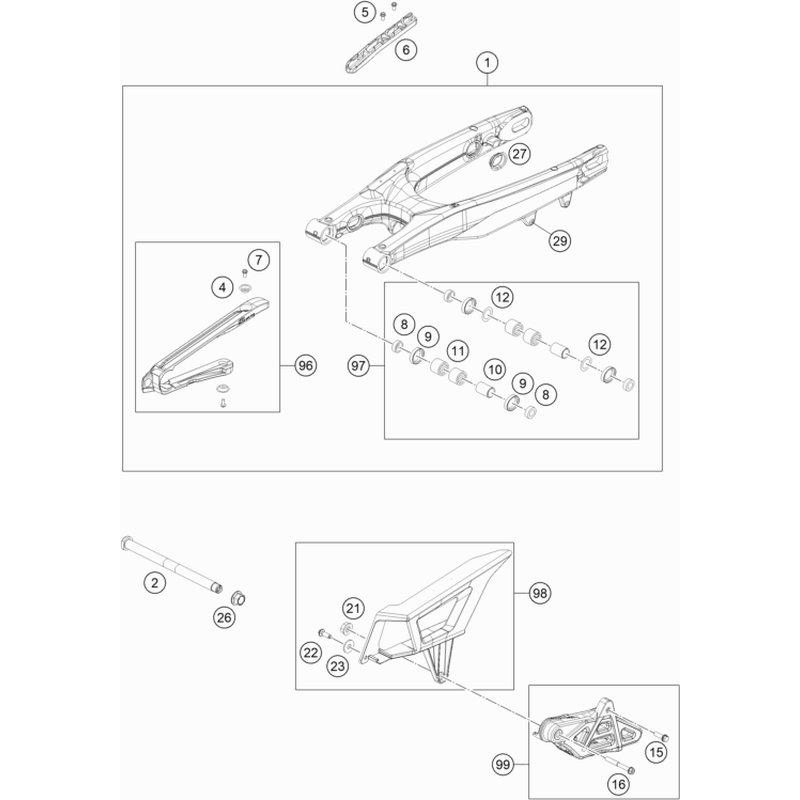 330 mm Schwungradradhalter Feste Schraubenschl/üssel Einstellbarer Kupplungsauszieher Abzieher Reparaturwerkzeug Zubeh/ör f/ür Motorrad-ATV Yctze Schwungradhalter